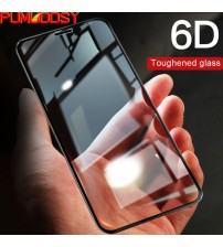 6D Full Cover Edge Tempered Glass For iPhone X 10 7 8 6 Plus