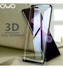 3D Full Cover Screen Protector Glass For Samsung Galaxy S9 S8