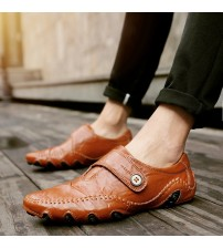 British Style Moccasins Genuine Leather Flats