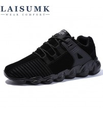 LAISUMK Men Casual Shoes Autumn Lace-up