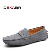 DEKABR Soft Moccasins Men Loafers Shoes