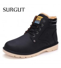 Leather Casual Working Fashion Boots