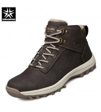 Male Rubber Winter Ankle Boots
