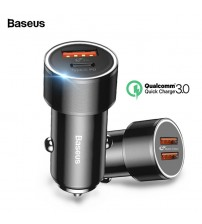 Baseus Car Dual USB Quick Charge