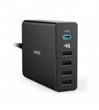 Anker USB Type-C 5-Port Wall Charger
