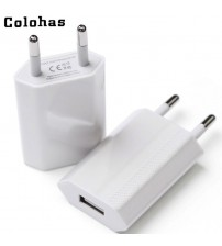 High Quality European Plug USB Charger
