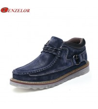 Genuine Leather Casual Snow Boots