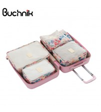 6Pcs Travel Set Bags Packing Cube