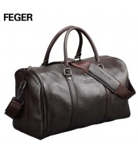 Duffel Bag Large Genuine Leather