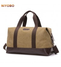 Large Capacity Canvas Travel Bags