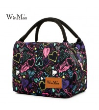 Colorful Insulated Lunch Bag
