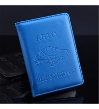 Driver License Bag PU Leather Card Holder
