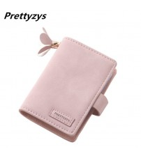 Card Slots Matte Pu Leather Holders