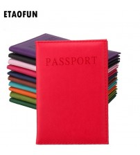 Etaofun PU Leather Passport Cover