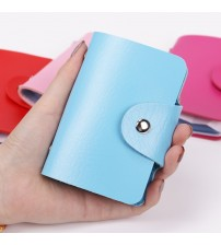 Card Slots Double Sided Plastic Card Holder