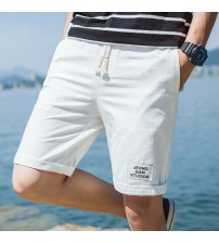 Casual Comfortable Breathable White Shorts
