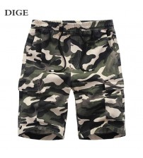 Camouflage Military Casual Short