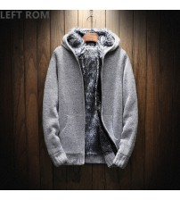 Autumn Fashion Brand Long Sleeve/Hooded Knitting Thickening