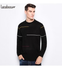 O-Neck Slim Fit Men Pullover High-quality DP Knitted Sweater