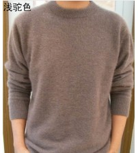 Lafarvie Off Sale Standard Solid Pullovers Knitted Sweater