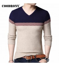 COODRONY Autumn Winter Warm Wool Sweaters