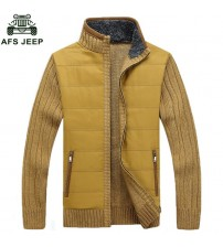 AFS JEEP Brand Winter 2018 Men Clothing Sweater