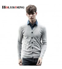 Holyrising False Two Pieces Sweater Knitted