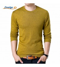O Neck Black Sweater Mens Jumpers Male Pollover Knitted Polo Shirt
