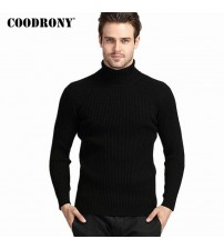 COODRONY Winter Thick Warm Cashmere Sweater Men