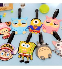 Luggage Tag Cartoon Style Accessories