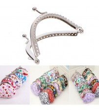 DIY Craft Frame Kiss Clasp Lock Accessories