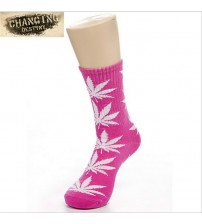 Maple Leaf Sock