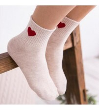 Heart Cute Warm Socks