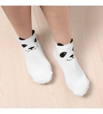 3D Printed Lovely Cartoon Pandas Socks