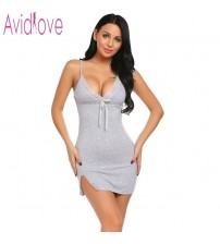 Sexy Cotton Nightgown