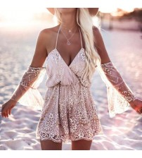Off The Shoulder Tunic Romper