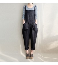 Dungaree Baggy Jumpsuits Harem Pants