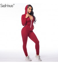 One Piece Outfits Jumpsuits Long Sleeve