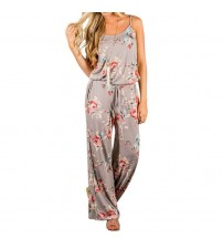 Kawaii Floral Women Jumpsuit
