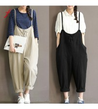 Loose Casual Baggy Jumpsuit