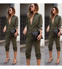 Fashion Slim Bodycon Jumpsuit