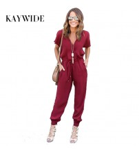 Jumpsuit Loose Cross Overalls