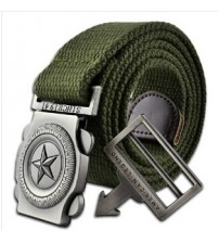JB- Military Belt Men's Canvas Belt
