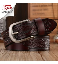 Handcrafted Eagle Shells High Quality Luxury Belt