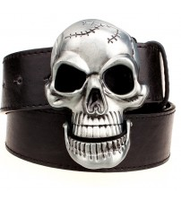 Big Skull Metal Buckle Belts