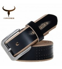 COWATHER Genuine Leather Strap Belts