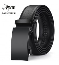 Automatic Male Cummerbunds Leather Belt