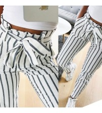 Casual Mid Waist Pants