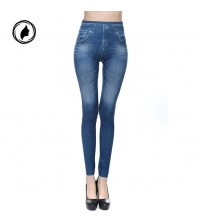 Denim Pants Cowboy Slim Leggings