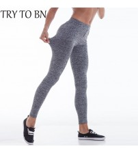 Sexy Bodybuilding Low Waist Leggings